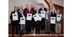 Preisverleihung auf dem LANCOM Solution Partner Summit 2016