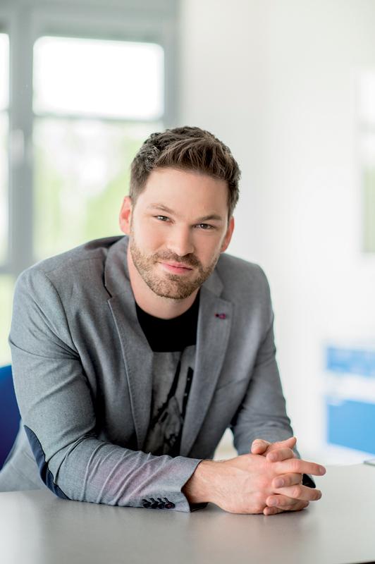Martin Pfleiderer, Leiter Marketing & Kommunikation bei der TAROX AG